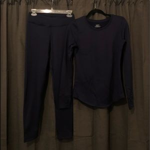 Climate Right Shirt and Pant Set